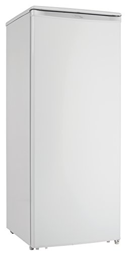 Danby Designer Energy Star 8.5-Cubic Feet Upright Freezer in White, DUFM085A4WDD