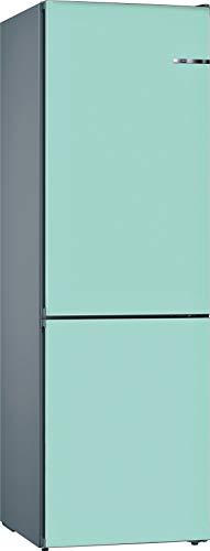 Bosch KVN39ITEA Serie 4 VarioStyle - Frigorífico independiente/E / 203 cm / 238 kWh/año/Puerta frontal intercambiable azul pastel / 279 L / 89 L congelador/NoFrost/VitaFresh