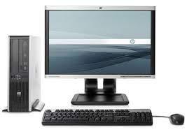 POSTAZIONE COMPLETA COMPUTER FISSO ASSEMBLATO TOWER CORE 2 DUO W7P + LCD 17in (Ricondizionato)