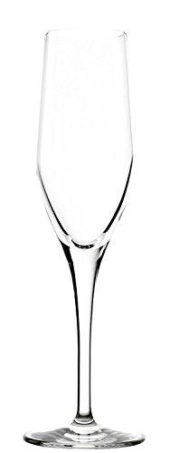 Stölzle Lausitz Exquisit Sektkelche, 175ml, 6er Set, spülmaschinenfest: Edles Gläser-Set für Schaumwein aus hochwertig verarbeitetem Kristallglas
