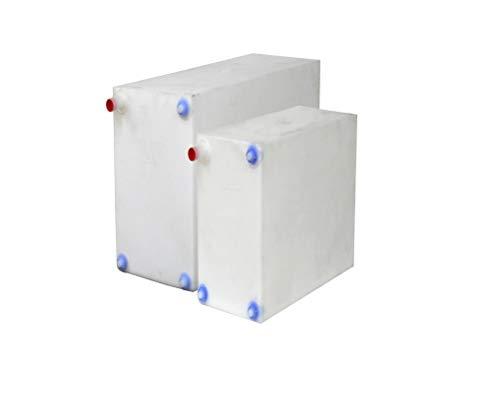 A.A Fresh and Gray Water Holding Tank | Combo Pack | RV Water Holding Tank | Camper Water Holding Tank - BPA Free (16 Gallon & 21 Gallon)