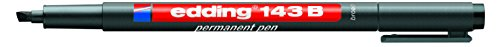 Edding e-143Box von 10Filzstifte Permanent Schwarz