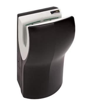 Mediclinics Dualflow Plus - Secador de manos automático con certificado HACCP, color negro