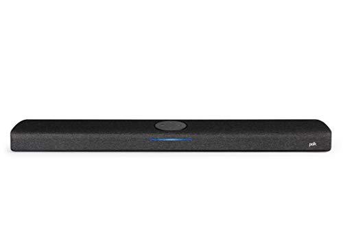 POLK AUDIO React Soundbar für Surround Sound, TV Lautsprecher für Heimkino Soundsystem, Alexa eingebaut, Nacht/Film/Musik-Modus, Wandmontage, universelle Kompatibilität