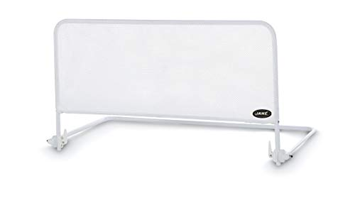 Jané 050208C01 - Barrera de Cama Abatible en Color Blanco, Largo 90 Cm