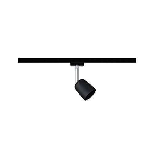 Paulmann 969.26 URail LED-Spot Cover max. 10W Schwarz matt/Chrom Metall/Kunststoff