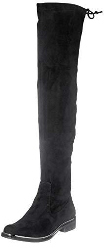 Caprice Damen 9-9-25510-25 Overknee-Stiefel, Black Stretch, 37 EU