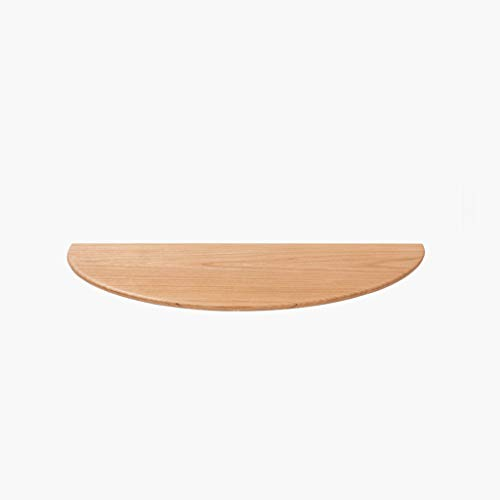 TLMYDD Halbrunde Zierrahmenwandregal Wandregal Aus Massivem Holz 400 × 200 × 18 Mm |Regal