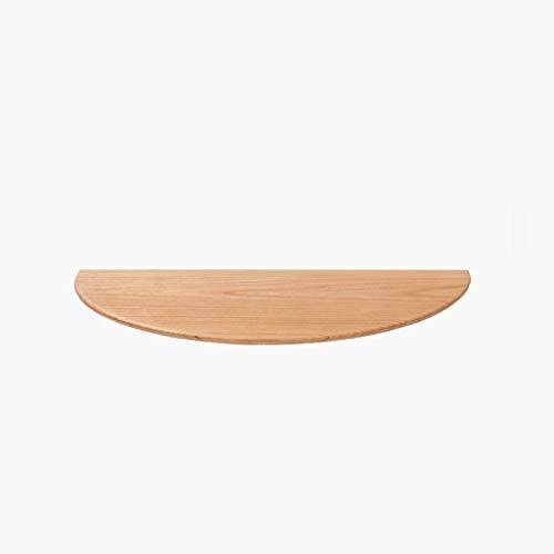 MLMHLMR Halbrunde Zierrahmenwandregal Wandregal Aus Massivem Holz 400 × 200 × 18 Mm Wand Bücherregal