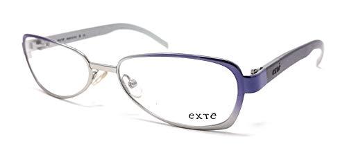Damen-Brille Exte Ex 118 Silber und Lila Violett 03