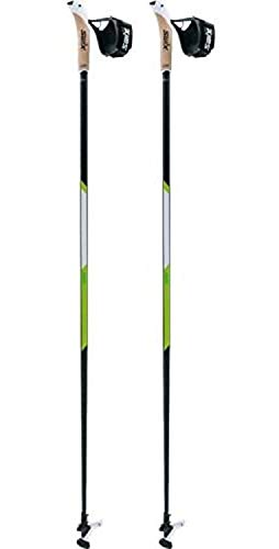 Swix CT4 Nordic Walking Stock Lime Carbon Tech mit Twist & Go Spitze 1 Paar 105cm