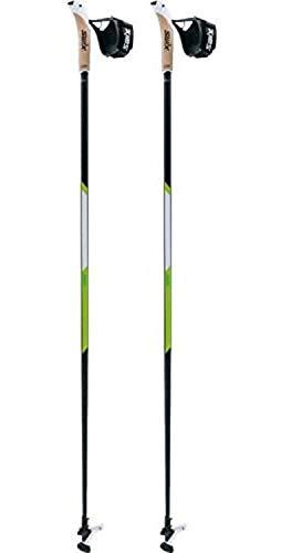 Swix CT4 Nordic Walking Stock Lime Carbon Tech mit Twist & Go Spitze 1 Paar 120cm