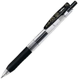(まとめ) ゼブラ ゲルインクボールペン サラサクリップ 0.7mm 黒 JJB15-BK 1本 【×60セット】