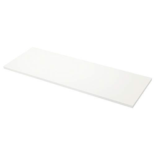 SÄLJAN niestandardowy blat roboczy 10-45 x 3,8 cm biały/laminat