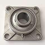 """Stainless Steel 4 Bolt Flange Units SUCF208-24 ZSKL 1-1/2"""" SUCSF208-24"""