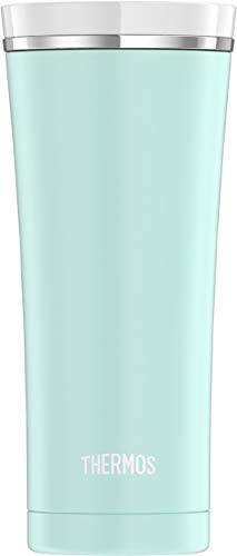 Thermos Sipp Stainless Steel 16 Ounce Travel Tumbler, Matte Turquoise (NS105TQ4)