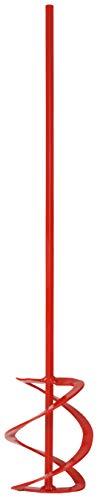 Connex Wendelrührer - Ø 100 x 590 mm - Sechskant-Schaft - Geeignet für Estrich, Mörtel & Putze - Mischgut bis 15 kg - Für 13 mm Bohrfutter/Mörtelrührer/Rührquirl/Rührkorb / COX782387