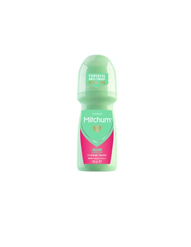 Mitchum Women 48HR Protection Roll-On Deodorant & Anti-Perspirant, Flower Fresh, 100 ml