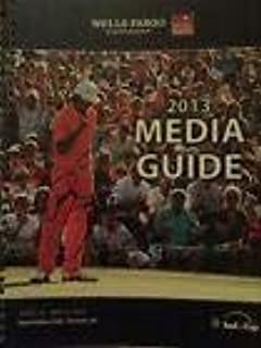 Rickie Fowler autograph signed Wells Fargo Championship Media Guide/Program - Autographed Golf Magazines