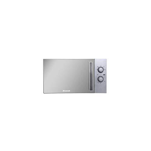 Brandt SM2606S Piano di lavoro 26L Specchio, Bianco forno a microonde