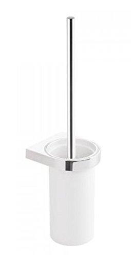 HEWI WC-Buerstengarnitur System 800 chrom, Kunststoff weiss 800.20.10041