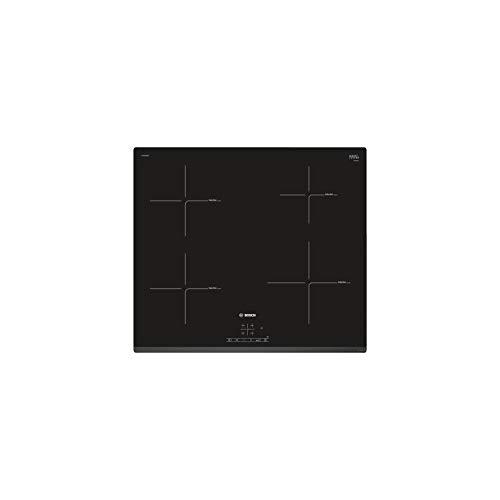 Bosh PUE631BB1E Table à induction encastrable Série 4 - 4 foyers vitrocéramique - Puissance 4600 W - 60 cm - Noir