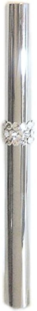追加メモ裏切るアトマイザー ロールオン 香水 詰め替え 『C-line』 スティックアトマイザー (シルバー ? メタル) / スワロフスキー クリスタル/携帯性?遮光性?保香性
