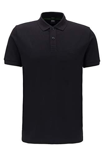 BOSS Piro Polo, Negro (Black 1), XXX-Large para Hombre