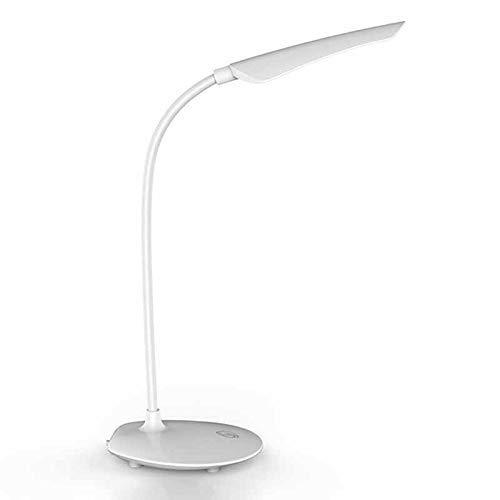 HYY-YY 16 LED Sensor de Prensa Interruptor de Carga USB 3 Marchas Lámpara de Escritorio Protección de Ojos 5W Lámpara de Mesa para la Lectura de la Sala de los Niños