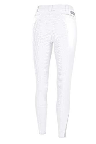Pikeur Damen Vollbesatz Reithose DARJEEN Jeans Grip -neu-, weiß, 36