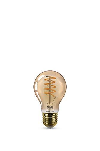 Bombilla LED Philips Equivalente 25W E27, Blanco cálido, Regulable Vintage, Vidrio