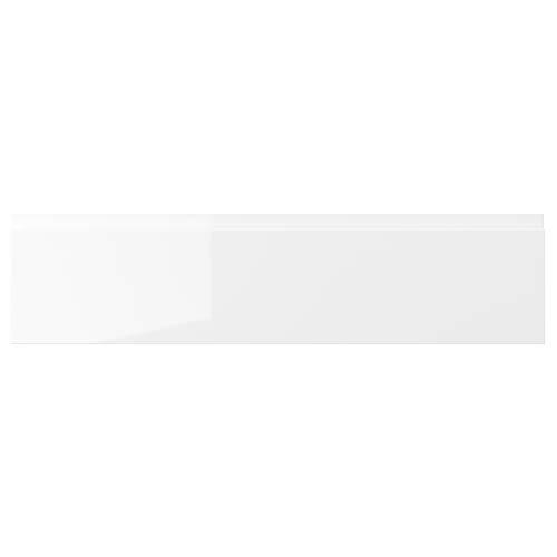 VOXTORP cajón frontal 80x20 cm blanco brillante
