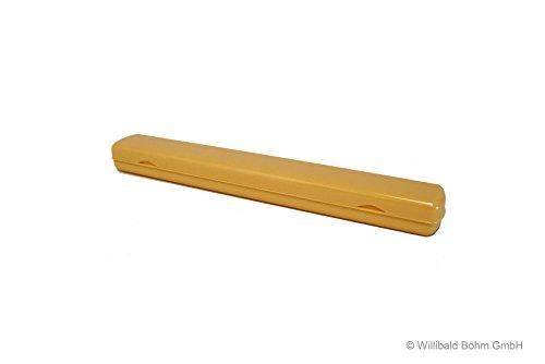 Zahnbürstenköcher pastell-gelb, Sonja-PLASTIC, Made in Germany