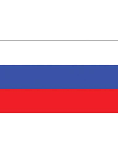 "TrendClub100® Fahne Flagge ""Russland Russia RU"" - 150x90 cm / 90x150cm"