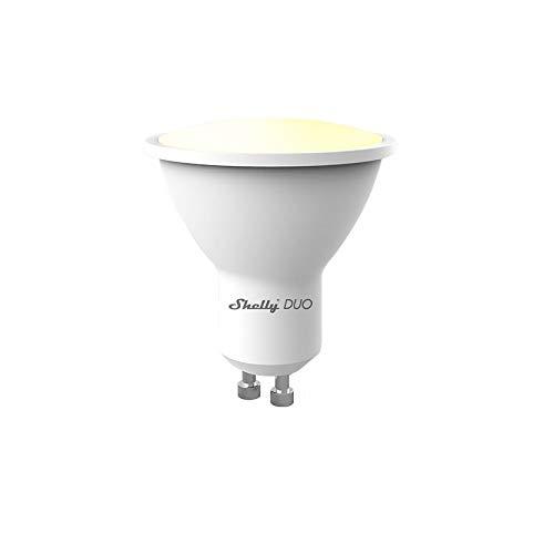 Shelly DUO, WLAN Lampe mit GU10 Sockel