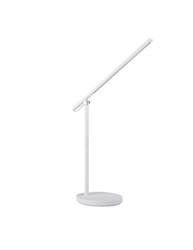 Lámpara de escritorio LED 7W CCT REXAR blanca con puerto USB