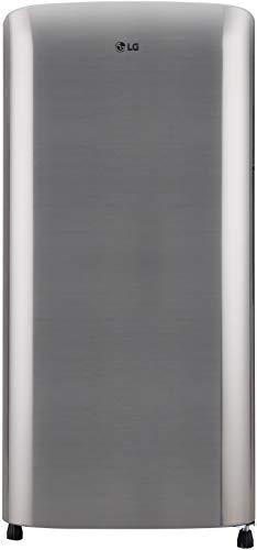 LG 190 L 3 Star Direct-Cool Single Door Refrigerator (GL-B201RPZD, Shiny Steel, Moist 'N' Fresh)