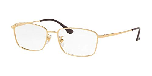 Ray-Ban 0RX6436D-55-2500 Gafas de lectura, 5620, 55 para Hombre