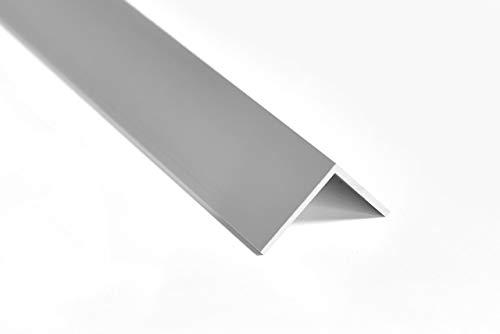 Nielsen Aluminium Winkelprofil Silber matt eloxiert 2000x30x30 mm, Stärke: 2 mm, Länge: 200 cm