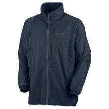 Columbia Cougar Peaks II Jacket Copa Viento Multisport Hombre, Color Azul -...