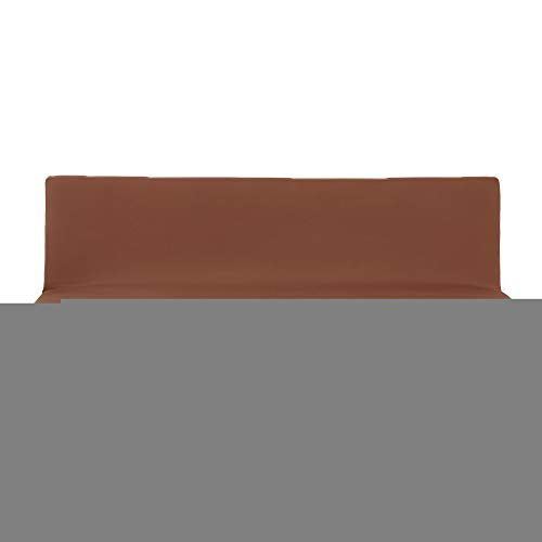 Color Sólido Funda de Sofá e Futón sin Brazos,Funda Sofa Clic Clac Elastica de Poliéster Antideslizante Cubre Protector de Muebles Pare Sofá Cama Plegable sin Reposabrazos,Cubierta Sofá O S
