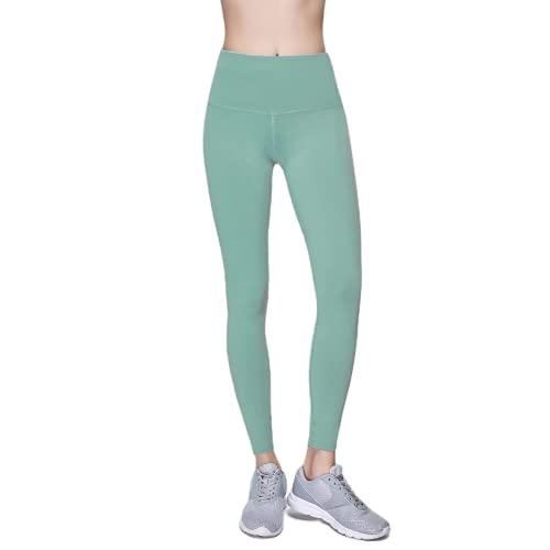 Pantalones de Yoga Anti-Sentadillas para Mujer, Pantalones Deportivos de Cintura Alta, Leggings, Pantalones de Fitness al Aire Libre, Pantalones de Yoga elásticos de Secado rápido GS