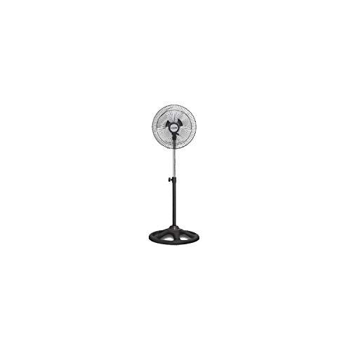 """Ventilador de pie DE 10"""" DE diámetro, pequeño y Potente. Altura Regulable,Motor silencioso,Potencia: 45W.ELECTROTEK ET-F10SF"""