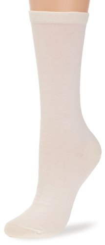 Kindy Damen Socken Gr. 36/38, Beige (Ecru)