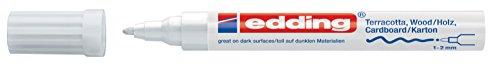 edding Mattlack-Marker edding 4040 creative, 1-2 mm, weiß