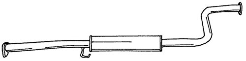 sigam Marmitta Centrale LEGEND/825/827 V6 86