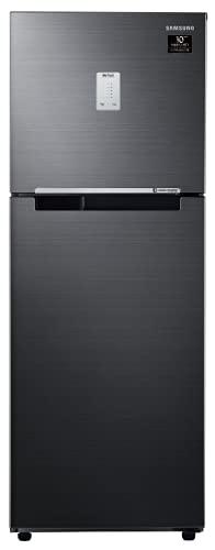 Samsung 253 L 3 Star Digital Inverter Frost Free Double Door Refrigerator (RT28A3453BX/HL, Luxe Black)