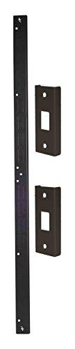 Door Armor Mini - Door Security Reinforcement Kit For Jamb, Frame, Strike Plate - DIY Home Security – Bronze