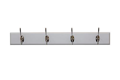 Aspect TV-eenheid, hout, wit, 48 x 8 x 6,5 cm