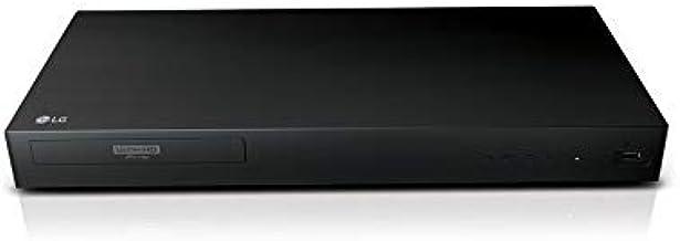 LG 4K Ultra Multi Region Blu Ray Player - Multi zone A B C Blu-ray Pal Ntsc - Dual Voltage -Bundle with Dynastar HDMI Cable